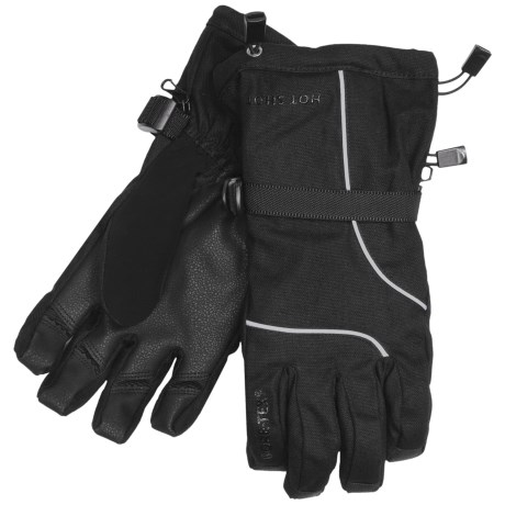 Jacob Ash Hot Shot Hammer Canvas Gore-Tex® Gloves - Waterproof, Insulated (For Men) in Black