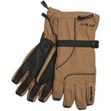Jacob Ash Hot Shot Hammer Canvas Gore-Tex® Gloves - Waterproof, Insulated (For Men) in Brown - Closeouts