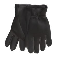 Jacob Ash Hot Shot Neoprene Fishing Gloves - Open Cuff (For Men) in Black - Closeouts