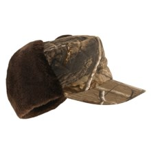 Jacob Ash Hot Shot Quilted Canvas Camo Hat - Insulated, Ear Warmer (For Men) in Realtree Ap - Closeouts