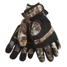 Jacob Ash Hot Shot Rattler Brushed Tricot Hunting Gloves - Insulated (For Men) in Realtree Ap - Closeouts