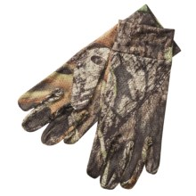 Jacob Ash Hot Shot Spandex Hunting Gloves (For Men) in Mossy Oak Break Up - Overstock