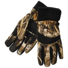 Jacob Ash Hot Shot Stormproof Fleece Hunting Gloves (For Men) in Advantage Max 4 Camo - Closeouts