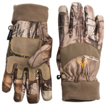 Jacob Ash Hot Shot Windstopper® Gloves - Touch-Fasten Compatible (For Men) in Realtree Xtra - Closeouts