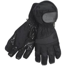 Jacob Ash Hot Shot Wrecking Ball Canvas Gore-Tex® Gloves - Waterproof, Insulated (For Men) in Black - Closeouts
