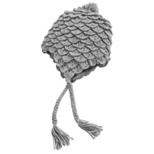 Jacob Ash Igloos Alligator Crochet Beanie (For Women) in Chateau - Closeouts