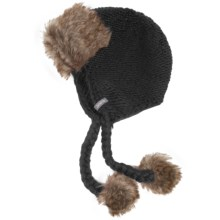 Jacob Ash Igloos Crochet Peruvian Hat (For Women) in Anthracite - Closeouts