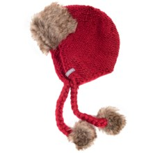 Jacob Ash Igloos Crochet Peruvian Hat (For Women) in Chili Pepper - Closeouts