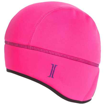 Jacob Ash Igloos Soft Shell Ponytail Fleece Beanie (For Women) in Magenta - Closeouts