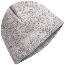 Jacob Ash Igloos Sweater Beanie - Fleece-Lined (For Women) in Light Grey Heather - Closeouts