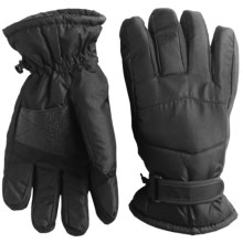 Jacob Ash Igloos Taslon Thinsulate® Gloves - Waterproof, Insulated (For Men) in Black - Closeouts