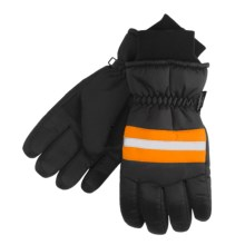 Jacob Ash Matte Tasion Utility Gloves (For Men) in Black/Blaze - Closeouts