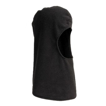 Jacob Ash Microfleece Balaclava (For Men and Women) in Black