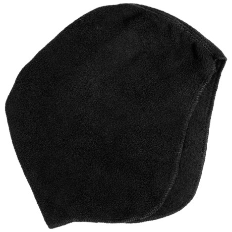 Jacob Ash Microfleece Helmet Liner - CoolMax®, X-Static® (For Men and Women) in Black