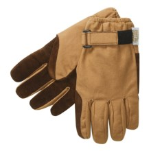 Jacob Ash Ryno Duck Work Gloves - Waterproof, Insulated (For Men) in Brown - Closeouts