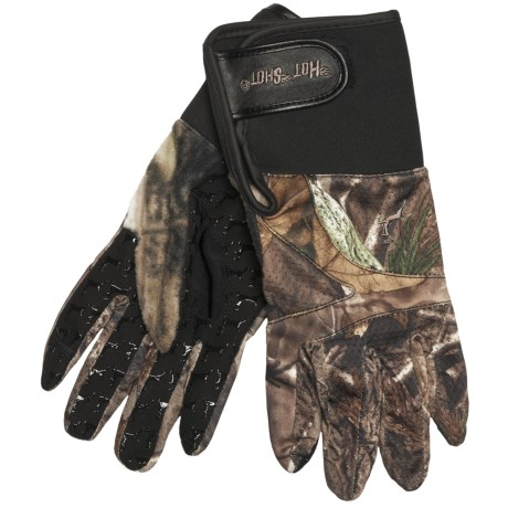 Jacob Ash The Archer Hunting Gloves - Release Opening (For Men) in Realtree Ap