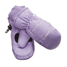Jacob Ash Waterproof Ski Mittens - Insulated (For Little and Big Kids) in Purple / White - Closeouts