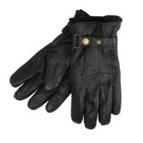 Jacob Ash Weather Beaters Gloves - Leather, Fleece Liner (For Men)