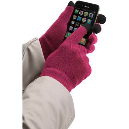 Jacob Ash Weather Beaters Magic Gloves (For Women) in Fuchsia - Closeouts