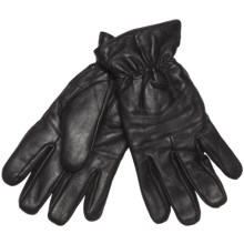 Jacob Ash Weather Beaters Traditional Gloves - Leather (For Men) in Black - Closeouts