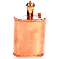 Jacob Bromwell Great American Flask - 9 fl.oz. Copper in Copper