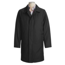 Jacob Siegel Raincoat - Zip-Out Liner (For Men) in Black - Closeouts