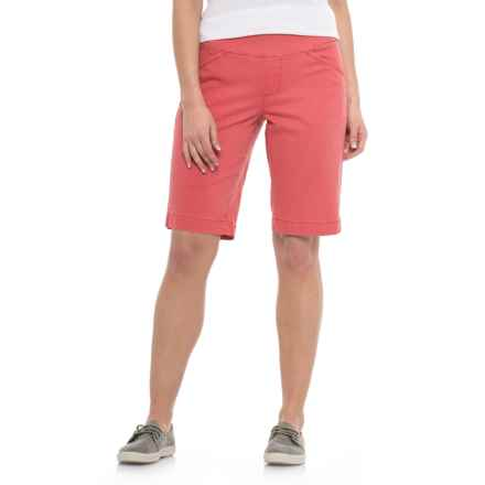 JAG Ainsley Bermuda Shorts (For Women) in Coral Spice - Closeouts