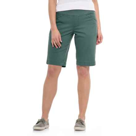 JAG Ainsley Bermuda Shorts (For Women) in Soapstone - Closeouts