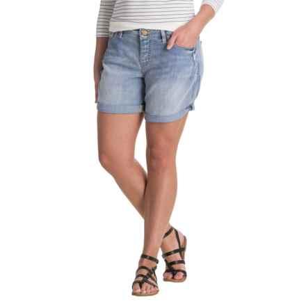 JAG Alex Boyfriend Shorts (For Women) in Cool Blue - Closeouts