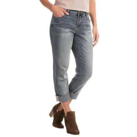 JAG Alex Five-Pocket Boyfriend Jeans - Relaxed Fit (For Women) in Saginaw Blue - Closeouts