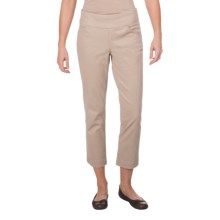 JAG Attie Chino Pants - Pull-On, High Rise (For Women) in Birchwood - Closeouts