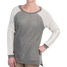 JAG Avalon Sweatshirt (For Women) in Light Grey - Closeouts