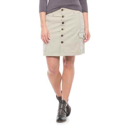 JAG Boardwalk Twill Skirt (For Women) in Stone - Closeouts