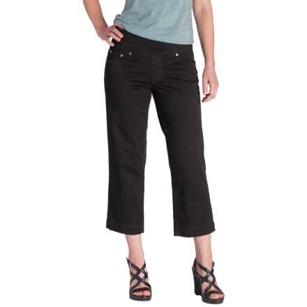 Jag Caley Pull-On Crop Pants (For Women) in Black - Overstock