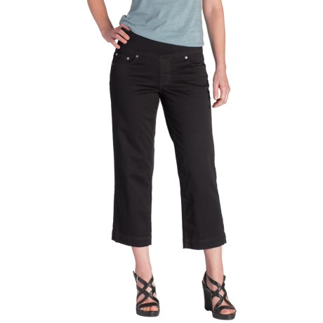 Jag Caley Pull On Crop Pants For Women