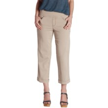 Jag Caley Pull-On Crop Pants (For Women) in Stucco - Overstock