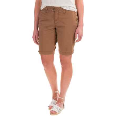 JAG Creston Shorts (For Women) in Birds Nest - Closeouts