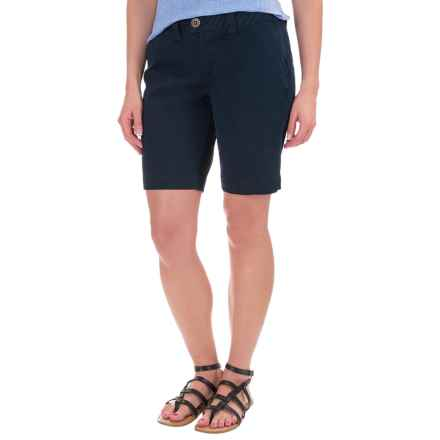 JAG Creston Shorts (For Women) in Nautical Navy - Closeouts