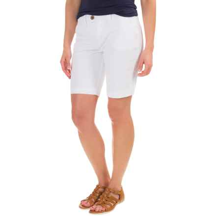 JAG Creston Shorts (For Women) in White - Closeouts