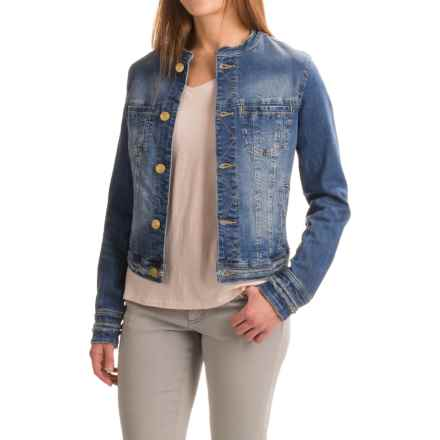 JAG Dixie Denim Jacket (For Women) in Blue Carbon - Closeouts