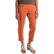 JAG Echo Twill Capris - Pull On (For Women) in Bengal - Overstock