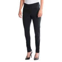 JAG Elena Skinny Pull-On Jeans (For Women) in Black - Closeouts