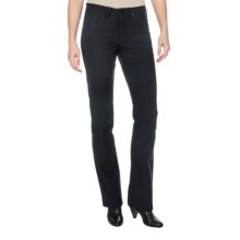 JAG Gwen Jeans - Techno Twill, Mid Rise, Narrow Bootcut (For Women) in Black - Closeouts