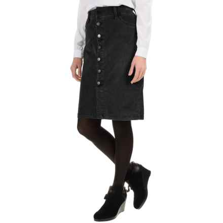 JAG Hazel Corduroy Skirt (For Women) in Black - Overstock