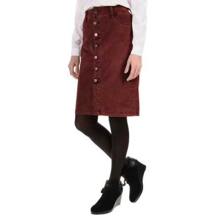 JAG Hazel Corduroy Skirt (For Women) in Elderberry - Overstock