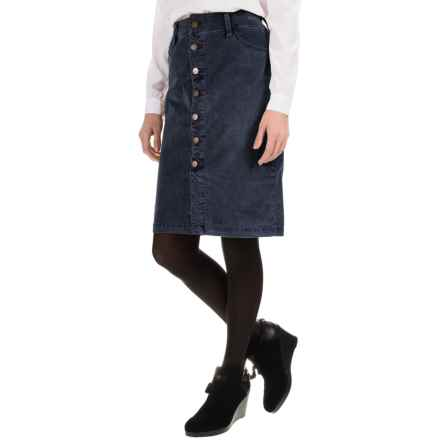 JAG Hazel Corduroy Skirt (For Women) in Midnight - Overstock