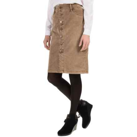 JAG Hazel Corduroy Skirt (For Women) in Toffee - Overstock