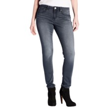 Jag Jackie Mid-Rise Skinny Jeans (For Women) in Light Wash - Closeouts