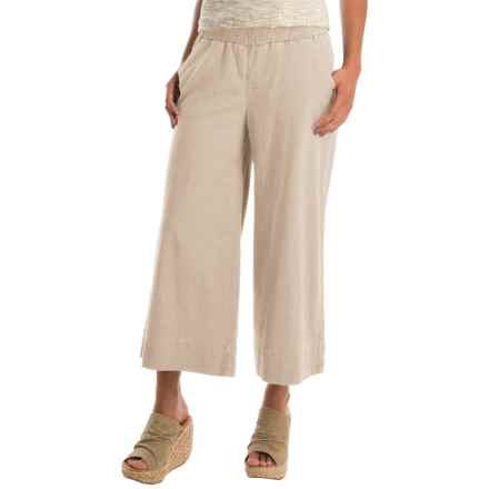 JAG Jaclyn Culottes (For Women) in Natural Linen - Overstock