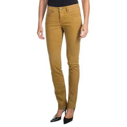 JAG Jane Jeans - Mid Rise, Slim (For Women) in Brassy - Closeouts